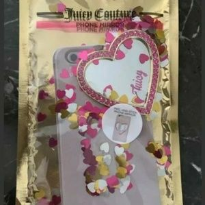 Juicy Phone mirror heart juicy couture